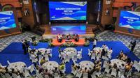 Airlines Coordination Meeting di Balairung Soesilo Soedarman, Gedung Sapta Pesona, di Jakarta, Rabu, 12 Februari 2020. (dok. Biro Komunikasi Publik Kemenparekraf/Dinny Mutiah)