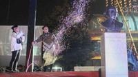 Gubernur Provinsi DKI Jakarta, Anies Baswedan saat pencanangan revitalisasi TIM, beberapa waktu lalu.