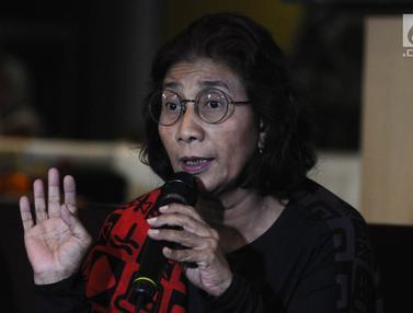 Menteri Susi Akan Tenggelamkan 51 Kapal Pencuri Ikan