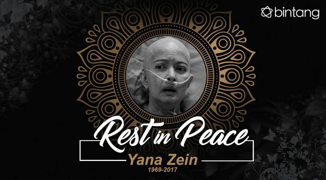 Yana Zein meninggal dunia pada Kamis (1/6). (Desain: M. Iqbal Nurfajri/Bintang.com)