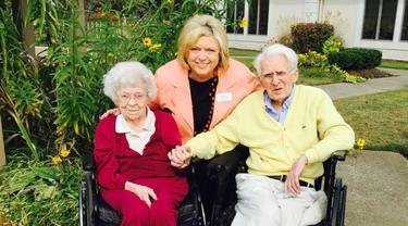 Allan dan Margaret, pasangan berusia 100 tahun memasuki 76 tahun usia pernikahan dan semakin lengket
