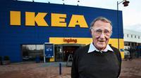 Pendiri perusahaan IKEA ini memilih terbang dengan pesawat kelas ekonomi