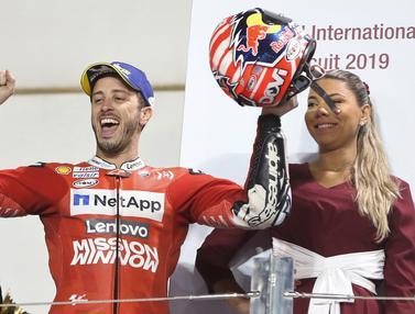 Andrea Dovizioso Berhasil Juarai Seri Pembuka MotoGP Qatar