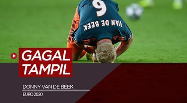 Berita video pemain Manchester United, Donny van de Beek gagal tampil di Euro 2021 bersama Timnas Belanda