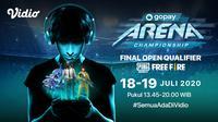 Saksikan Final Open Qualifier GoPay Arena Championship di Vidio. sumberfoto: Vidio