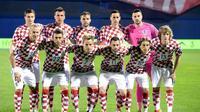 Penyerang Persija Jakarta, Marko Simic, memprediksi Timnas Kroasia berpeluang lolos ke semifinal Piala Dunia 2018. (AFP/Stringer)