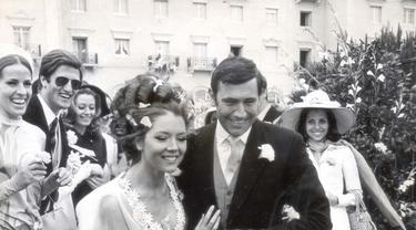 Adegan pernikahan James Bond dan Contessa Teresa di Vicenzo.