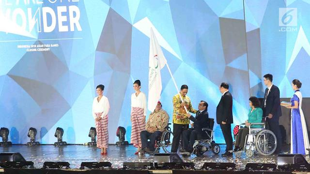 Kemeriahan Closing Ceremony Asian Para Games