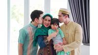 5 Potret Kebersamaan Venna Melinda Dengan Kedua Putranya (Sumber: Instagram.com/@athallanaufal7)
