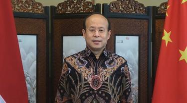 Dalam video singkat yang diunggah oleh akun Facebook Embassy of China in Indonesia, Dubes Xiao Qian turut mengucapkan selamat Idul Fitri bagi warga Indonesia (Kedubes China)