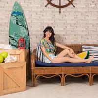 Foto profil DJ Una Eksklusif Bintang.com (MUA: Yenny, FG: Desmond Manullang, Location: Motoinc Studio)