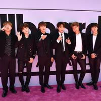BTS (AFP / GUSTAVO CABALLERO / BBMA2017 / GETTY IMAGES NORTH AMERICA)