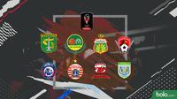 Piala Presiden 2019 Delapan Besar (Bola.com/Adreanus Titus)