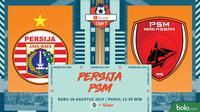 Shopee Liga 1 - Persija Jakarta Vs PSM Makassar (Bola.com/Adreanus Titus)