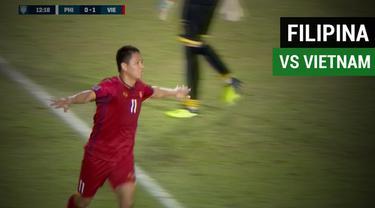 Berita video highlights semifinal leg I Piala AFF 2018 antara Filipina melawan Vietnam yang berakhir dengan skor 1-2, Minggu (2/12/2018).