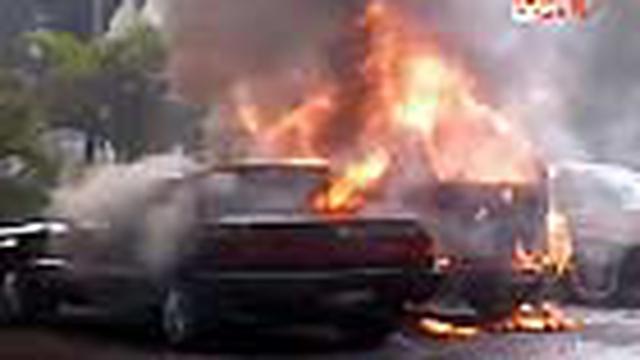 Puluhan pelaku aksi perusakan dan pembakaran mobil di kompleks kantor Pemda Mojokerto, Jawa Timur ditangkap polisi. Mereka diduga pendukung salah satu calon walikota yang gagal ikut Pemilukada.