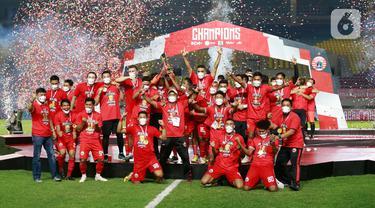 Taklukkan Persib, Persija Raih Juara Piala Menpora 2021