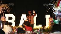 Menteri Pariwisata dan Ekonomi Kreatif (Menparekraf) Sandiaga Uno berkunjunga ke Bali. (Istimewa)