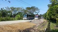 Regu tembak terpidana mati tiba di Nusakambangan. (Hanz Jimenez Salim/Liputan6.com)