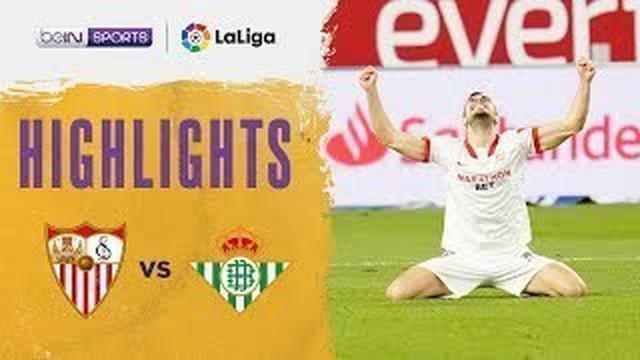 Berita Video Berita Video Highlights Liga Spanyol, Gol Tunggal Youssef En-Nesyri Bawa Sevilla Menang atas Real Betis (15/3/2021)