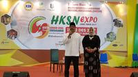 Gus Ipul, Wakil Gubernur Jawa Timur itu juga menyampaikan doa khusus bagi para ibu. (Liputan6.com/Dian Kurniawan)
