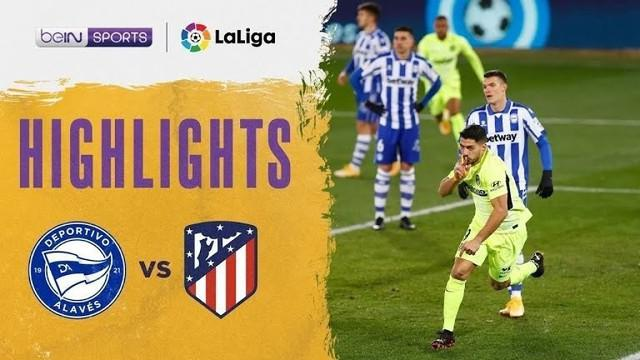 Berita Video, Luis Suarez selamatkan Atletico madrid dari hasil imbang lawan Alaves