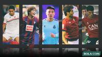 Kolase - 5 Pemain Asia di La Liga (Bola.com/Adreanus Titus)