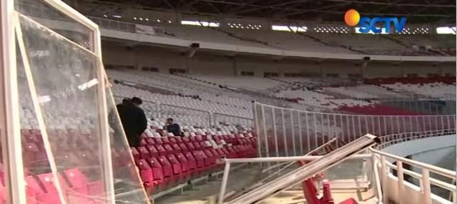 Merasa bertanggung jawab, Pemprov DKI juga sempat menyanggupi akan membantu memperbaiki stadion GBK yang rusak.