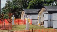 Penanganan wabah Ebola di Republik Demokratik Kongo (AFP/Jiji)
