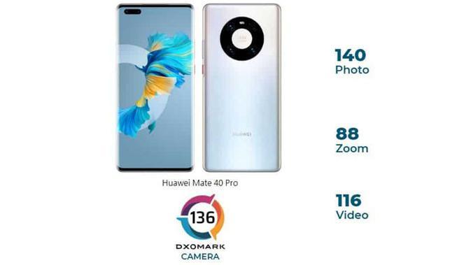 Huawei Mate 40 Pro. (Doc: DxOMark)