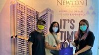 Ciputra Group selama Oktober mulai hand over atau menserahterimakan unit apartemen The Newton 1, yang merupakan salah satu tower dari pengembangan kawasan Ciputra World 2 Jakarta.