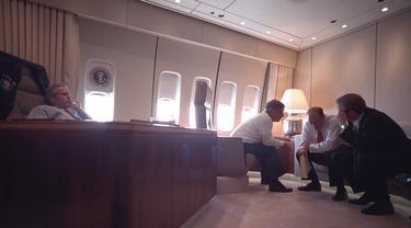 Terungkap, 16 Ekspresi George Bush Saat Kejadian 9/11