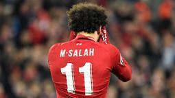 2. Mohamed Salah (Liverpool/Mesir): 219,6 juta Euro. (AFP/Lluis Gene)