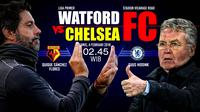 Watford vs Chelsea (Liputan6.com/Abdillah)