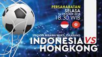 Indonesia VS Hong Kong (Liputan6.com/Abdillah)