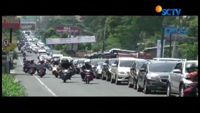 Rencananya sistem buka tutup baru akan dimulai, pada pukul 13.00 WIB tadi dari arah Cianjur menuju Jakarta.