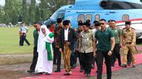Meski belum dibatalkan secara resmi, Jokowi menunda aturan larangan penggunaan cantrang hingga batas waktu yang belum ditentukan. (Liputan6.com/Fajar Eko Nugroho)