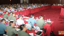 Citizen6, Cilangkap: Maksud dan tujuan Rakorpers TNI tahun 2012 adalah sebagai forum koordinasi pembina personel dan tenaga manusia di lingkungan unit organisasi. (Pengirim: Badarudin Bakri)