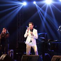 Tommy Page saat tampil di Ballroom Kuningan City, Jakarta Selatan malam Jumat (29/5) kemarin. (Foto: Deki Prayoga/Bintang.com)