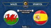 Persahabatan Internasional Wales Vs Spanyol (Bola.com/Adreanus Titus)
