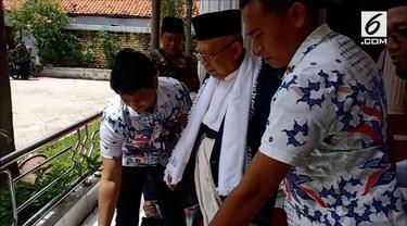 Ma'ruf Amin angkat suara soal insiden perobekan bendera Partai Demokrat di Riau.