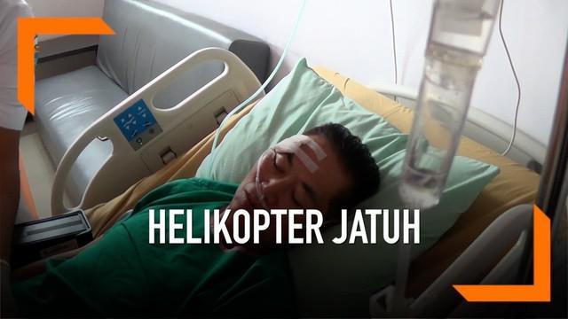 Kopilot helikopter yang jatuh di Tasikmalaya Jawa Barat menyampaikan kesaksiannya saat insiden tersebut terjadi hari Sabtu (16/2)