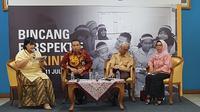 Bicang perspektif bersama Trakindo merupakan acara yang digagas Trakindo untuk membangunkarakter anak bangsa. Acara ini digelar di gedung kemtrian Pendidikan dan Kebudayaan Jakarta, Rabu (11/7/2018)