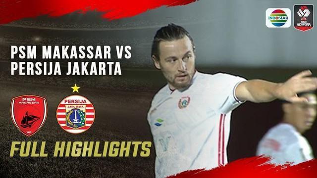 Berita Video PSM Makassar Bermain Imbang Melawan Persija di Semifinal Leg Pertama Piala Menpora 2021 (14/4/2021)