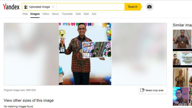 Cek Fakta Liputan6.com menelusuri klaim Anies meraih juara 1 mewarnai