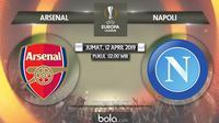 Liga Europa Arsenal Vs Napoli (Bola.com/Adreanus Titus)