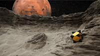 Robot bernama 'Hedgehog' (landak) diharapkan bisa membantu dalam menjalankan misi-misi NASA mengeksplorasi antariksa.