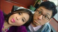 Ada beberapa hal yang membuat Putri Titian jatuh cinta dengan Junior Liem yang usianya terpaut enam tahun darinya.(Foto: Twitter)