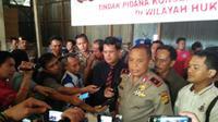 Polda Jambi bongkar sindikat jual beli satwa langka. (Hans Jimenez Salim/ Liputan6.com)