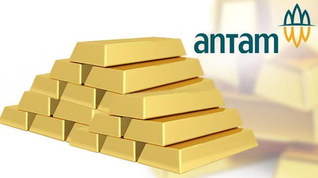 Ilustrasi harga emas antam